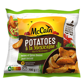 Potatoes à la mexicaine - op z'n Mexicaans